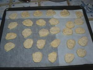 Biscuits apéritif à la vache qui rit et au sesame etape2