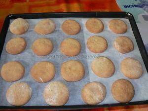 Biscuits croquants au sirop d'érable etape4