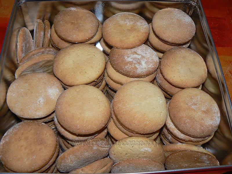 Biscuits croquants au sirop d'érable fin