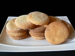 Biscuits croquants au sirop d'érable presentation