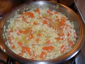 Risotto aux carottes etape3