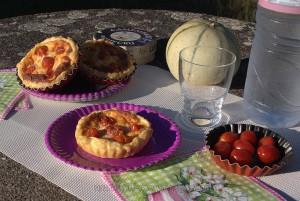 Tartelettes aux tomates cerises, parmesan et basilic fin2