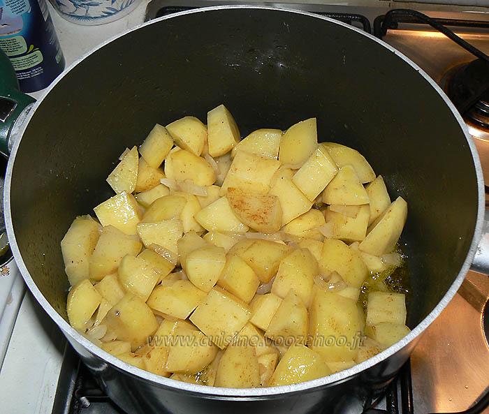 Courgettes longues et pommes de terre cucuzza eape1