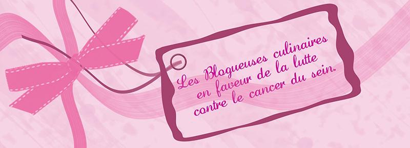 Les blogueuses culinaires en faveur de la lutte contre le cancer du sein