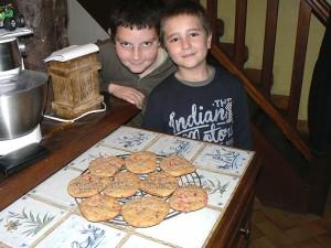 Cookies roses aux pralines de saint genix fin2