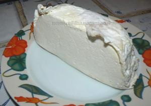 Galette salée au fromage de vache  etape1