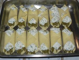 Lasagnes aux asperges, sauce safranée etape4