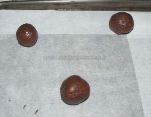 Biscuits double choco-menthe etape2