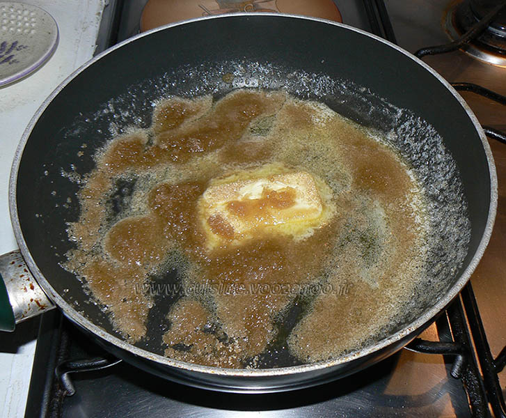 Muffins aux pommes caramelisées, beurre salé etape1