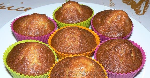 Muffins aux pommes caramelisées, beurre salé une