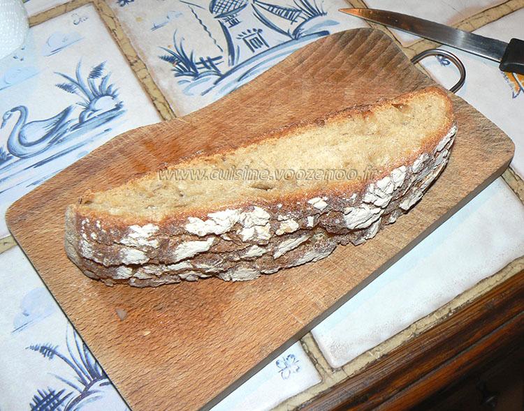 Delice au thon pain et mascarpone etape1