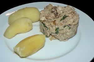 Delice au thon pain et mascarpone presentation