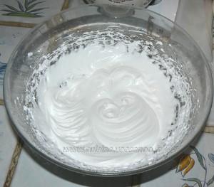 Macarons vanill et chocolat blanc etape1