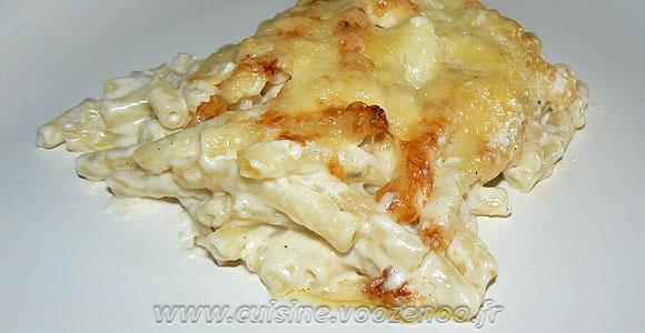 Gratin de macaronis de Cyril Lignac une