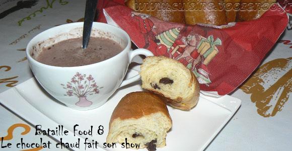 Pains au chocolat briochés une