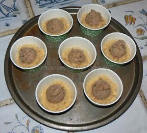 Petits gateaux au miel, coeur de pignons de pin caramelisés etape5