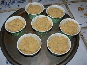 Petits gateaux au miel, coeur de pignons de pin caramelisés etape6