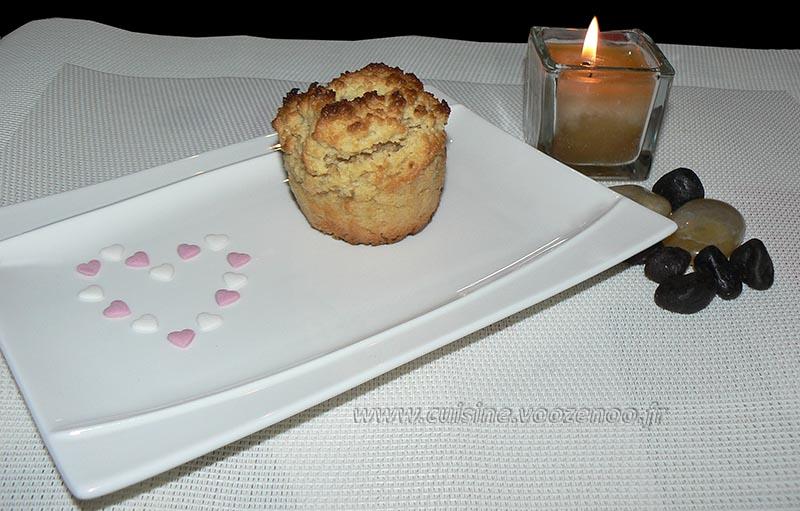 Petits gateaux au miel, coeur de pignons de pin caramelisés fin2