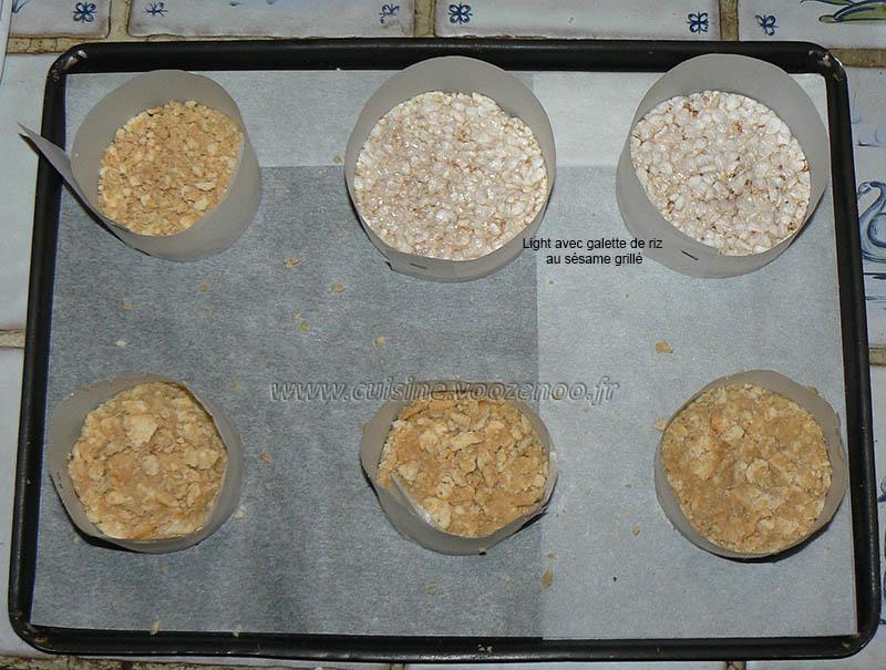 Cheesecake salé, legumes et basilic etape3