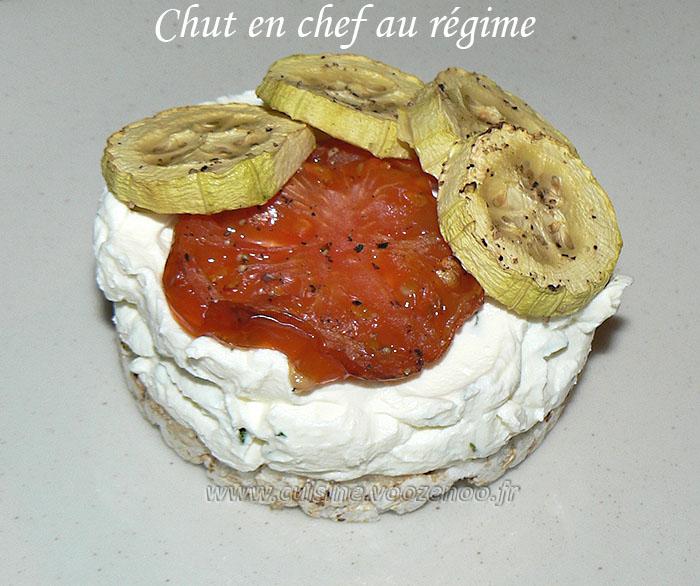 Cheesecake salé, legumes et basilic presentation