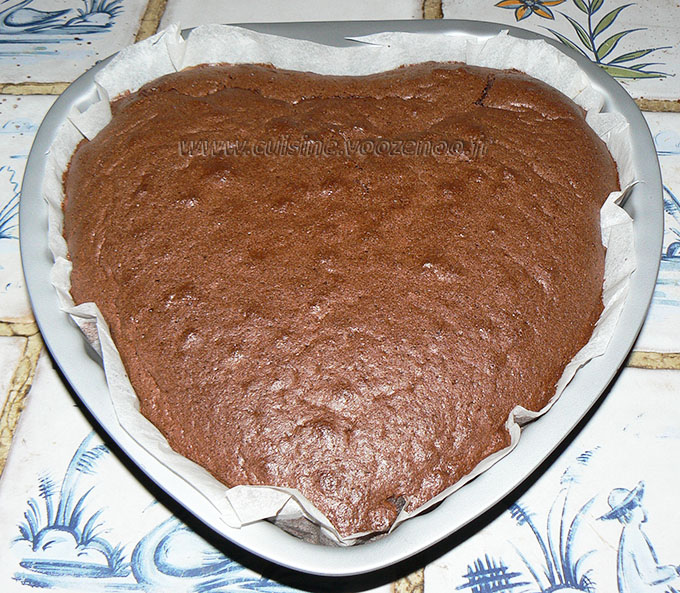 Gâteau magique au chocolat fin