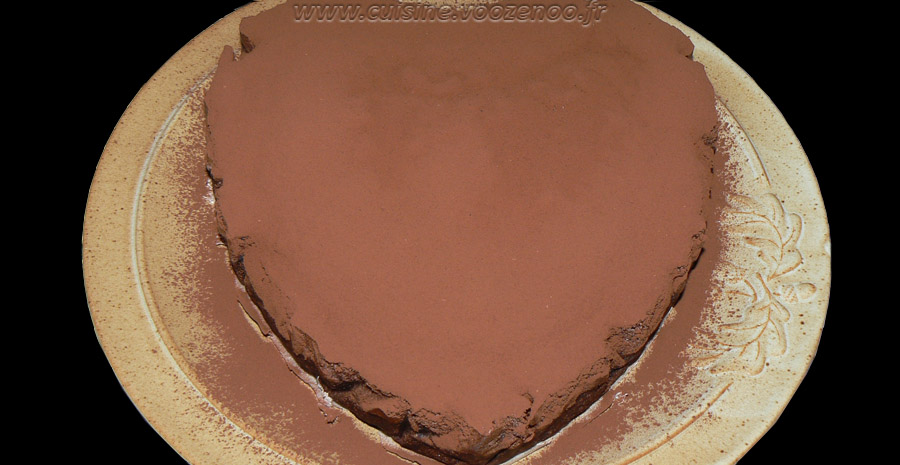Gâteau magique au chocolat slider