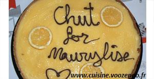 """Tarte au citron de """"Maurylise"""""""
