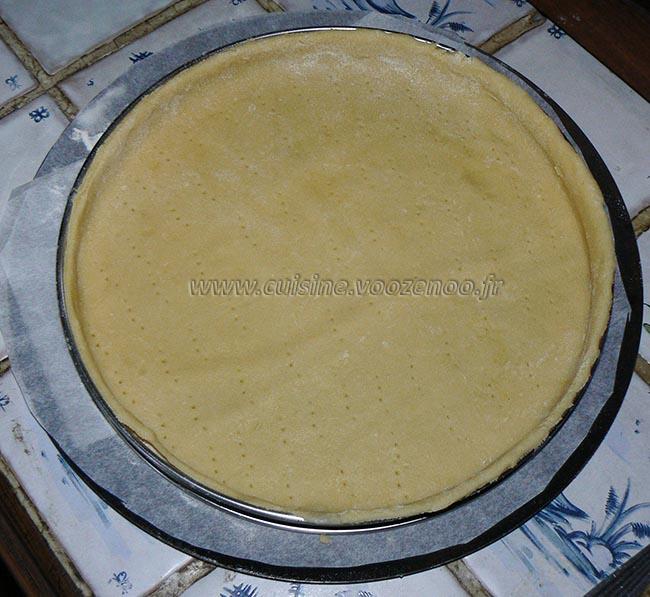 Tarte aux pommes, crème de mascarpone et miettes de spéculoos etape2