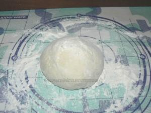pain blanc italien au coeur de chêvre etape1