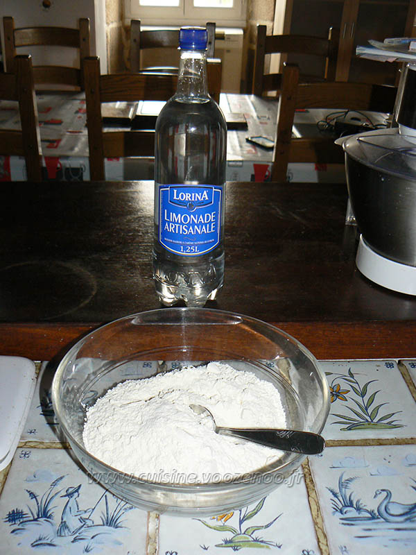 Gaufres à la limonade etape1