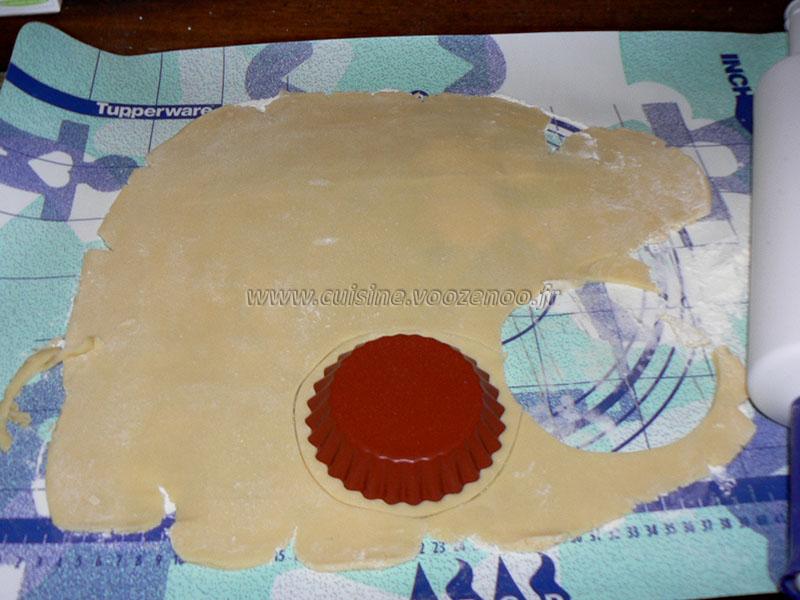 Tartelettes choco-coco, chantilly à la crème de coco etape1