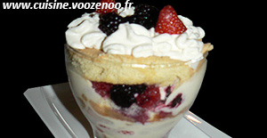 Layer Cake, fruits rouges en verrine #bataillefood12