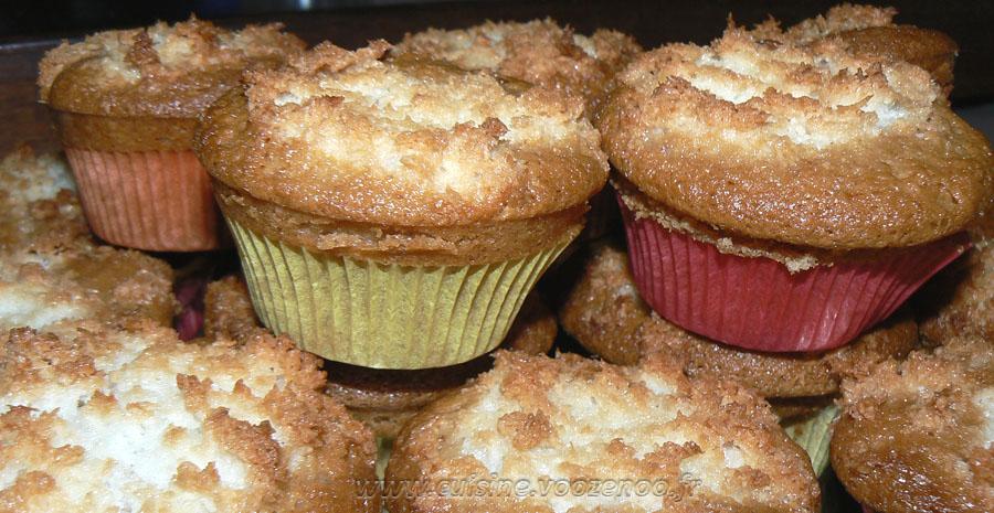 Muffins congolais slider
