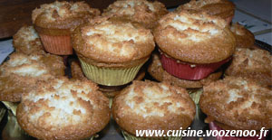 Muffins congolais une