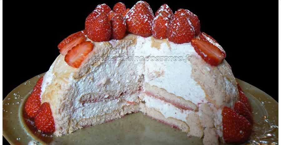 Charlotte aux fraises slider