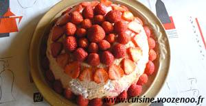 Charlotte aux fraises une