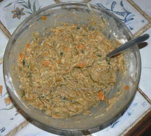 Bouchées aux carottes, pommes de terre et comté etape3