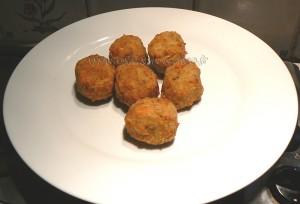 Bouchées aux carottes, pommes de terre et comté presentation