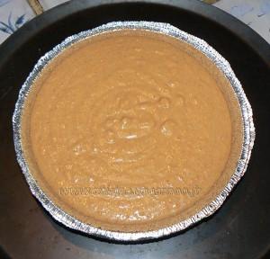 Tarte aux patates douces, topping noix de pecan etape4