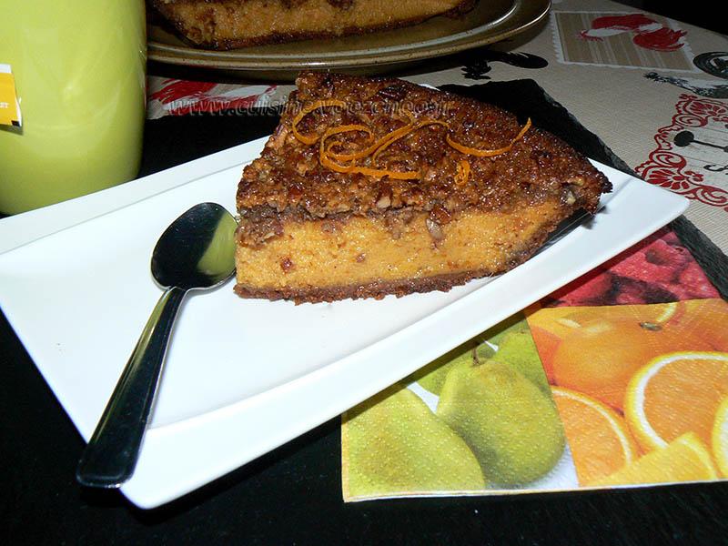 Tarte aux patates douces, topping noix de pecan fin2