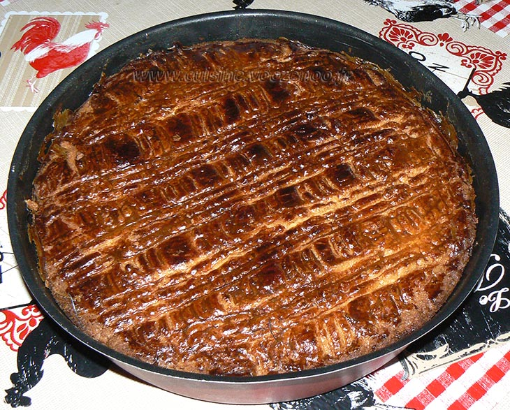 Gâteau breton fin