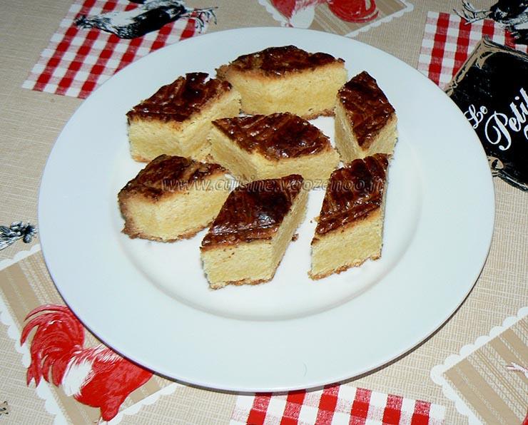 Gâteau breton presentation