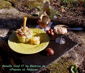 Cocottes de fruits d'automne en chaud et froid presentation