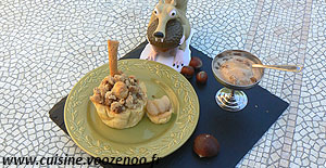 Cocottes de fruits d'automne en chaud et froid une
