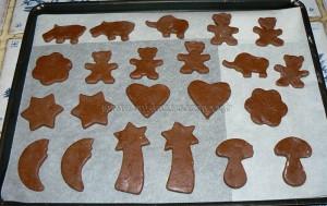 Sables aux chocolat, noisettes et cannelle etape5