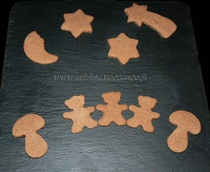 Sables aux chocolat, noisettes et cannelle  presentation