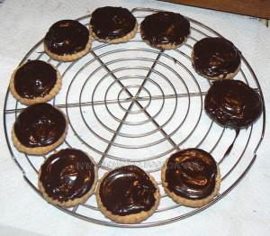 Cheesecake au citron vert et chocolat  etape2