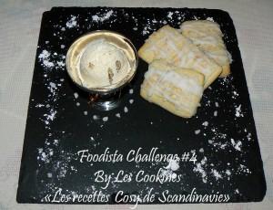 Biscuits aux amandes de finlande presentation