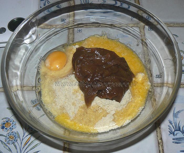 Galette des rois, creme de marron et marrons glaces etape1