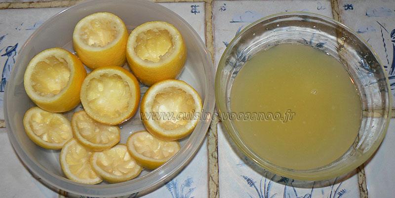 Citrons givrés etape1